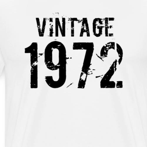 Vintage 1972 - Mannen Premium T-shirt
