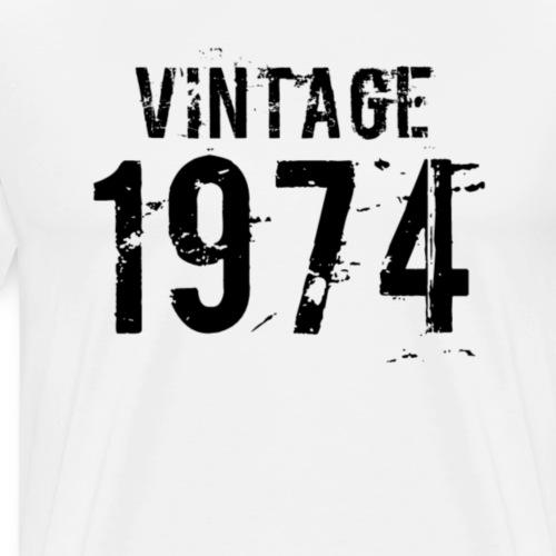 1974 - Mannen Premium T-shirt