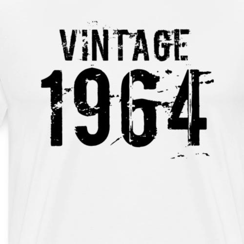 Vintage 1964 - Mannen Premium T-shirt