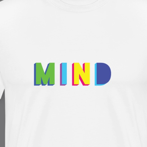 MIND Tee Shirts - T-shirt Premium Homme
