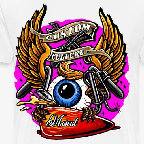 Custom Motorcycle Culture by Mescal - Maglietta Premium da uomo