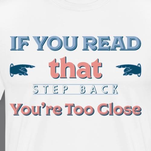 SOCIAL DISTANCING t-shirt - Men's Premium T-Shirt