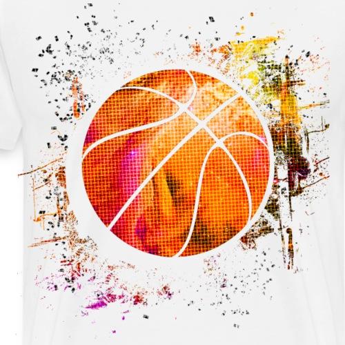 Basketball - Basketballer - Basketball Spieler - Männer Premium T-Shirt