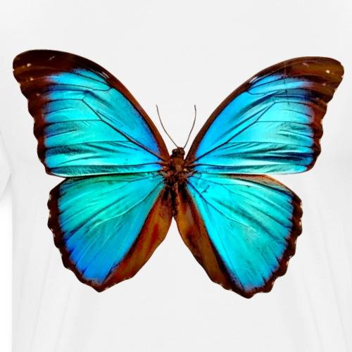 Schmetterling Morpho Didius Peru T-Shirt - Männer Premium T-Shirt