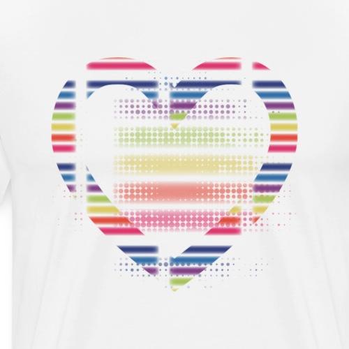 Love - Herre premium T-shirt