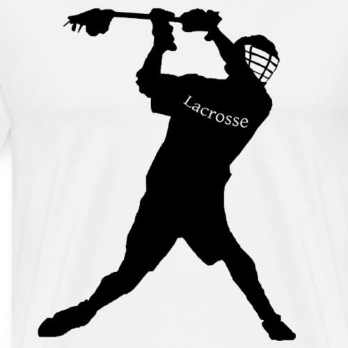 Lacrosse Player - Männer Premium T-Shirt