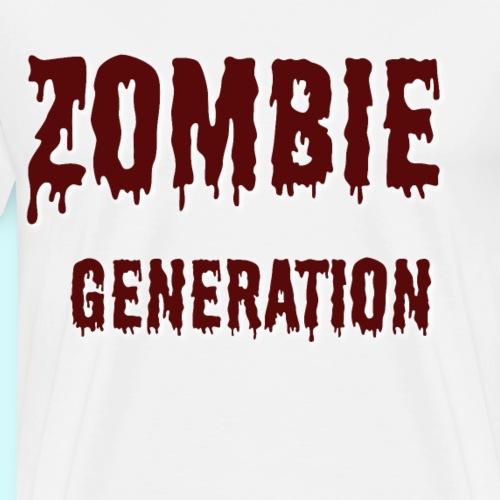 Zombie Generation - Männer Premium T-Shirt