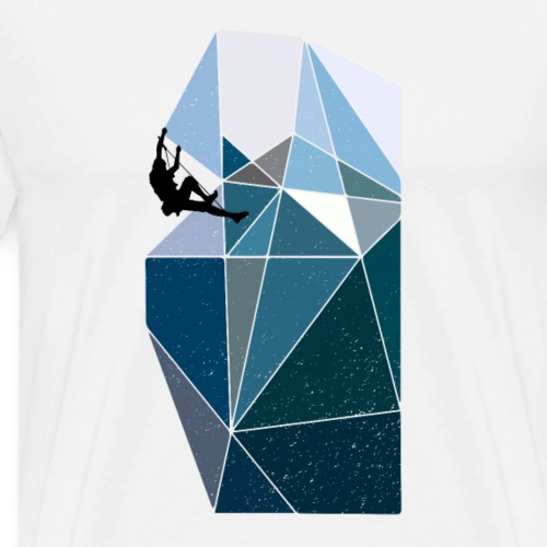 Klettern Freiklettern Bouldern - Männer Premium T-Shirt