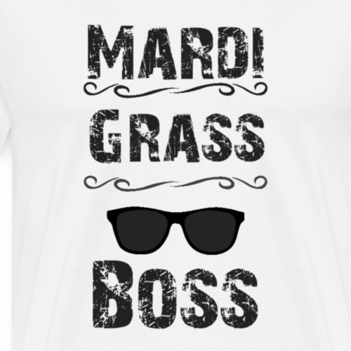mardi grass - Mannen Premium T-shirt