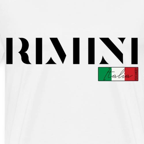 RIMINI ITALIA ITALIEN URLAUB INSEL (b) - Männer Premium T-Shirt