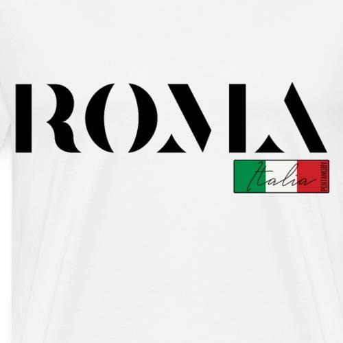 ROM ROMA ITALIA ITALIEN URLAUB INSEL (b) - Männer Premium T-Shirt