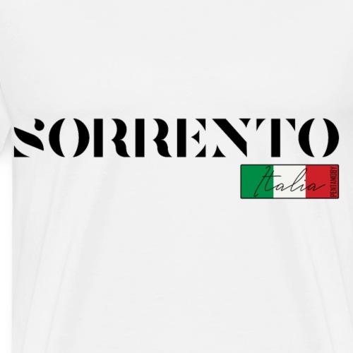 SORRENT SORRENTO ITALIA ITALIEN URLAUB INSEL (b) - Männer Premium T-Shirt