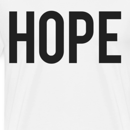 Hope - Mannen Premium T-shirt