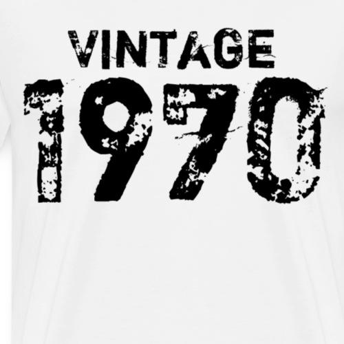 Vintage 1970 - Mannen Premium T-shirt