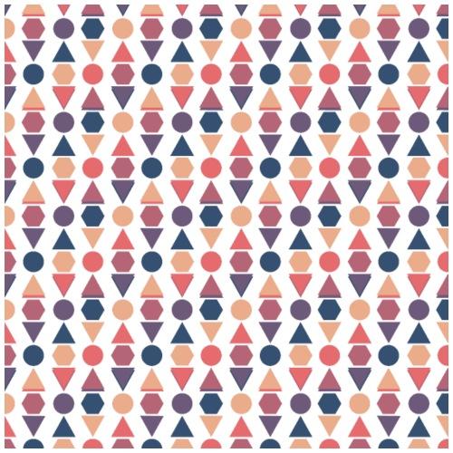 Shapes Wallpaper Pattern - Men's Premium T-Shirt