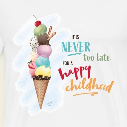 Eis - Kindheit - Männer Premium T-Shirt
