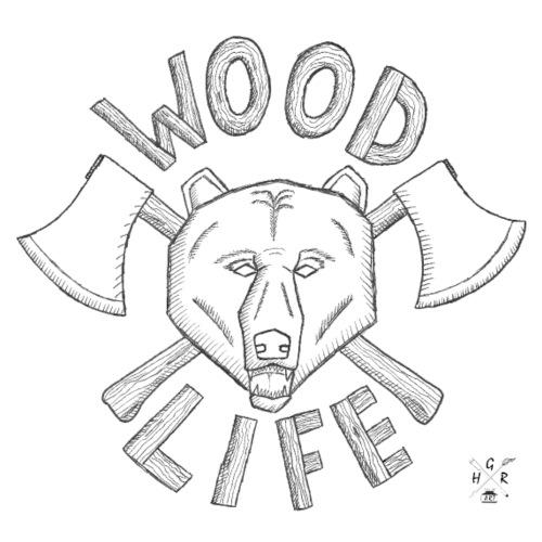 Wood Life - Männer Premium T-Shirt