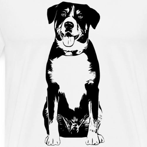 Entlebucher Sennenhund Hunde Design Geschenkidee - Männer Premium T-Shirt