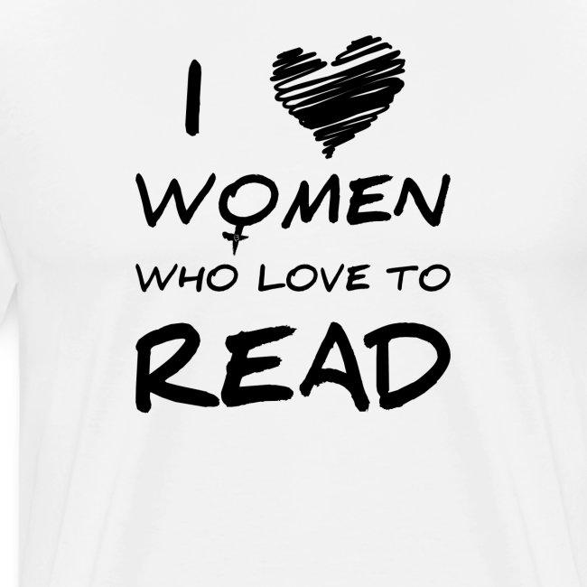 0172 Ich liebe Frauen die das Lesen lieben!