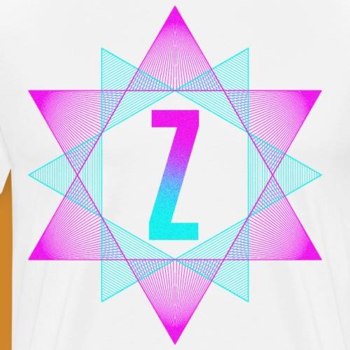 Abstract Z - Männer Premium T-Shirt