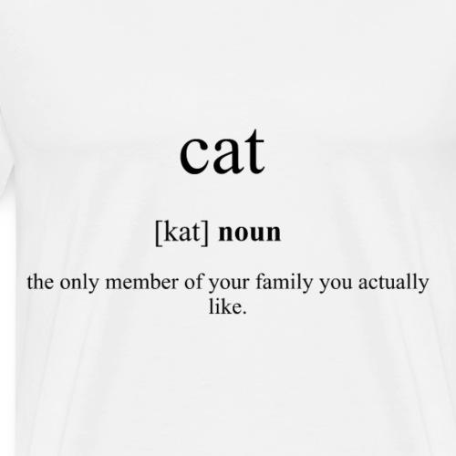 Cat (Katze) Definition Unisex T-Shirt