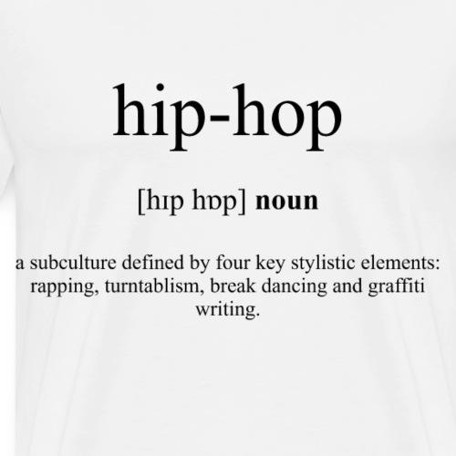 Hip-Hop Definition Unisex T-Shirt