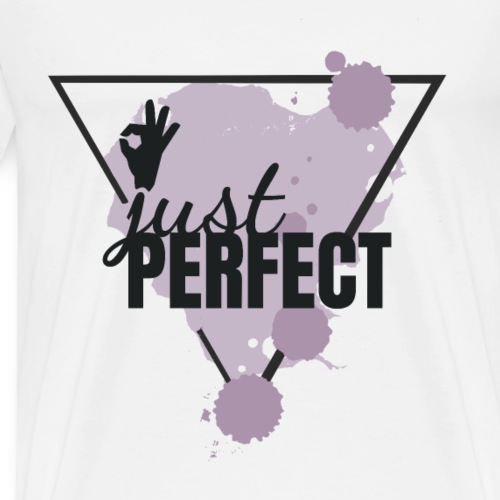 JUST PERFECT - PINK - Männer Premium T-Shirt