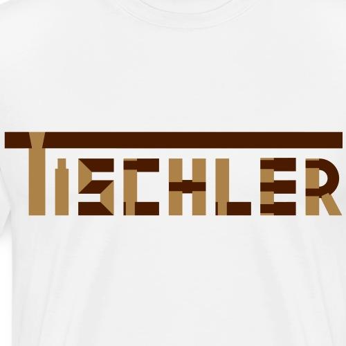 Holzverbindungen 4 Tischler Holz Werkzeug Hobel - Männer Premium T-Shirt