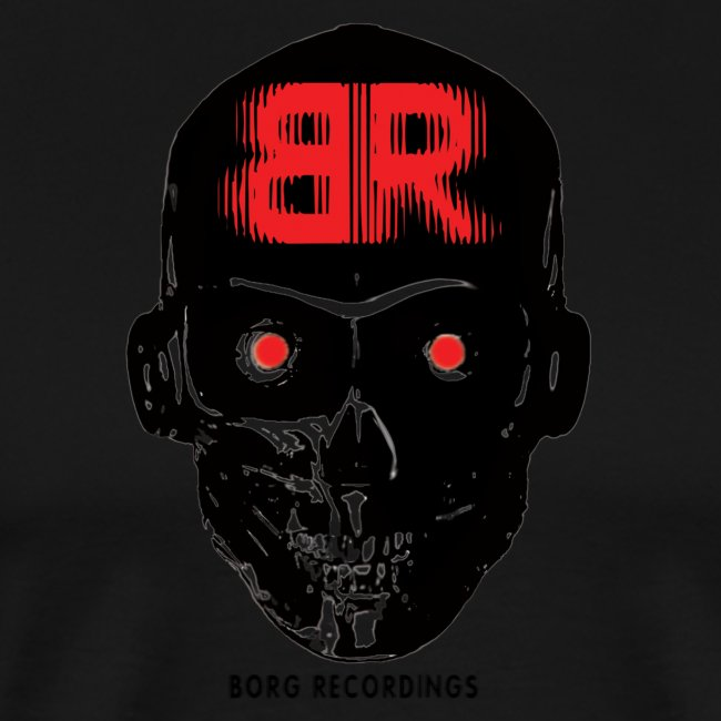 Borg Skull BR red png