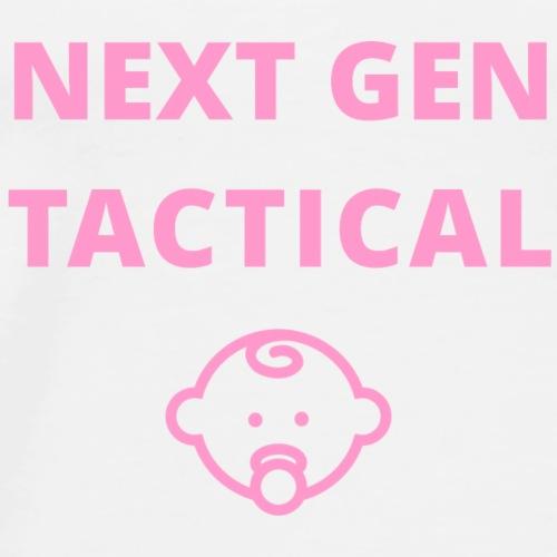 Tactical Baby Girl - Mannen Premium T-shirt