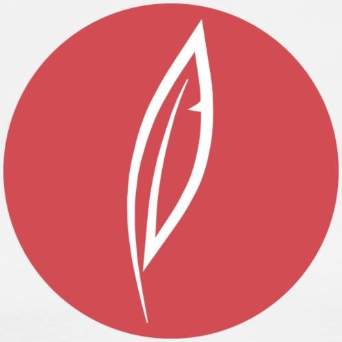 Logo - Rond rouge - T-shirt Premium Homme