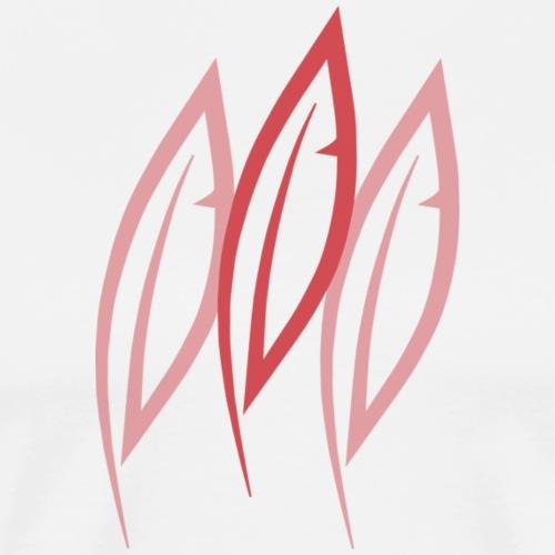 Logo - Trois plumes - T-shirt Premium Homme