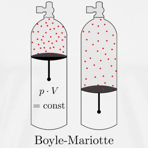 Tauchflaschen Gesetz v. Boyle Mariotte