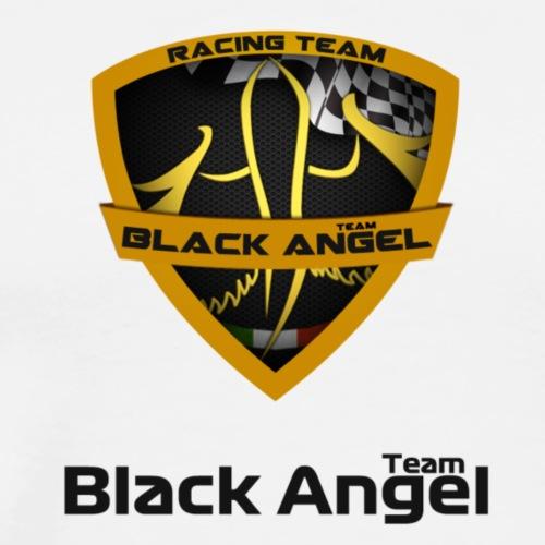 Black Angel Logo nero - Maglietta Premium da uomo