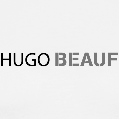 hugo_beauf - T-shirt Premium Homme