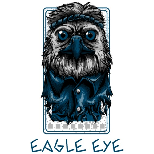 Eagle Eye - Männer Premium T-Shirt