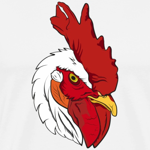 rooster II - Maglietta Premium da uomo