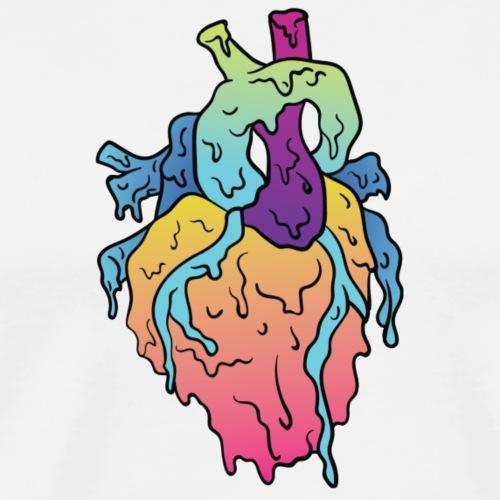 Grime Heart - Maglietta Premium da uomo