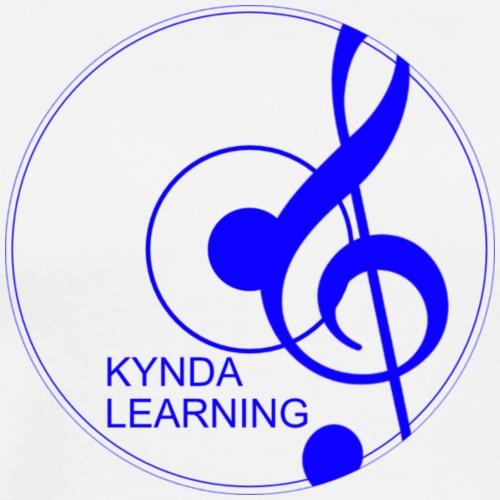 New Kynda Learning Logo BLU - Men's Premium T-Shirt