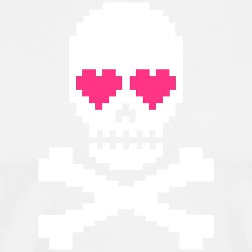 Skull Love - Mannen Premium T-shirt