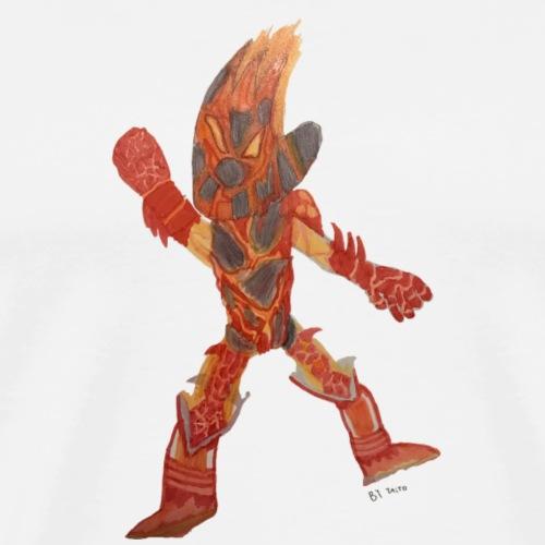 Fire Blast Show Star BY TAiTO - Miesten premium t-paita