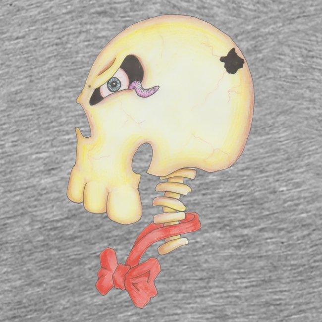 Bow Tie Skull Tee