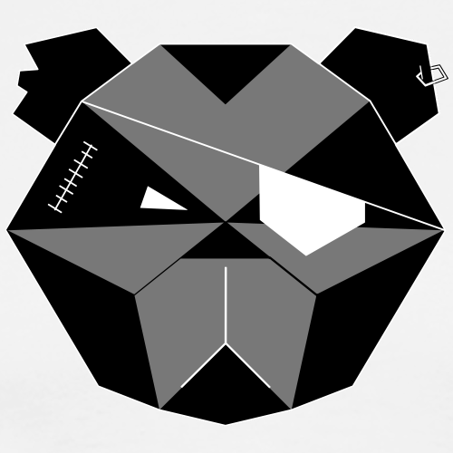 HODENPEZIS Origin Design B&W - Männer Premium T-Shirt