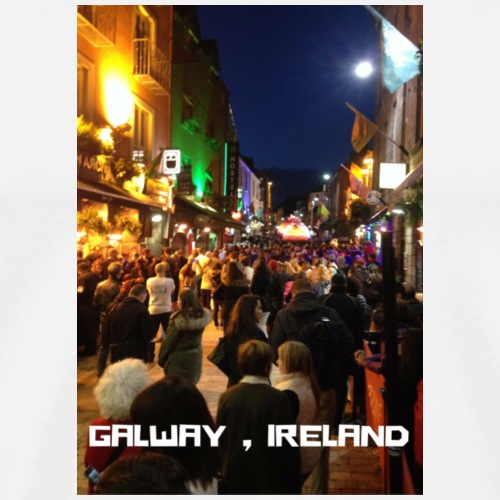 GALWAY IRELAND SHOP STREET - Men's Premium T-Shirt