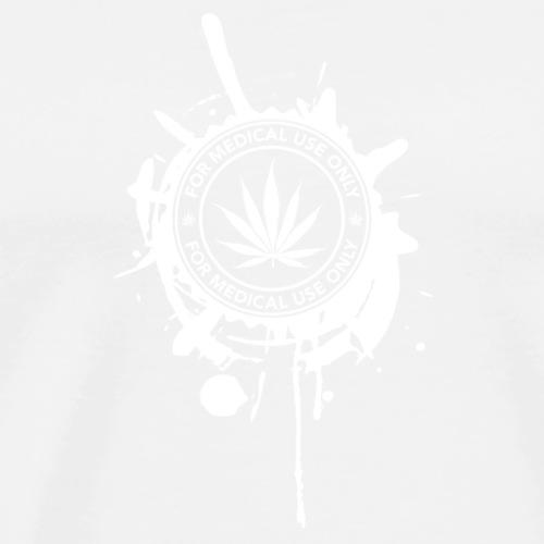 GANJA MEDICA - Maglietta Premium da uomo