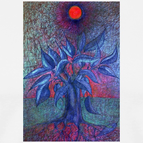 Trees Flower - Koszulka męska Premium
