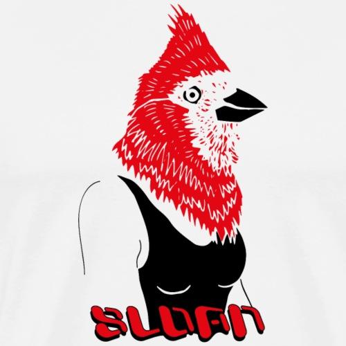 Sloan Human Bird - Männer Premium T-Shirt