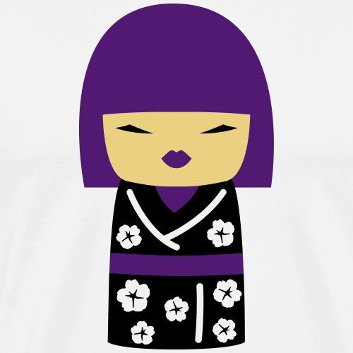 Motif Poupée Japonaise 2 - T-shirt Premium Homme