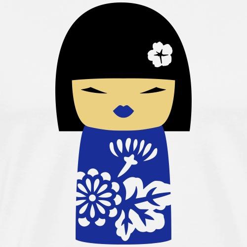 Motif Poupée Japonaise 3 - T-shirt Premium Homme