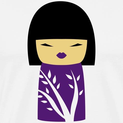 Motif Poupée Japonaise 1 - T-shirt Premium Homme